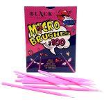 Black Lashes – Microbrushes (100pk)
